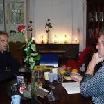 Joop Hoek in gesprek met Hans de Booij