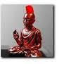 Tegen de stroom in, boeddha met hanenkam