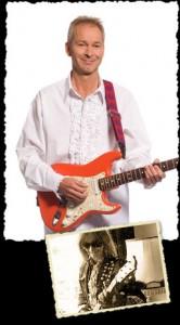 Sjoerd Plak met gitaar