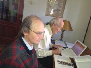 Rob Janssen en Jan de Breet