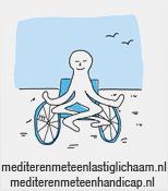 logo mediteren met een lastig lichaam