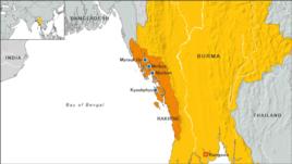 west birma Rakhinegebied