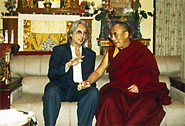 chris hinze en dalai lama