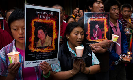 Exiled Tibetans in India