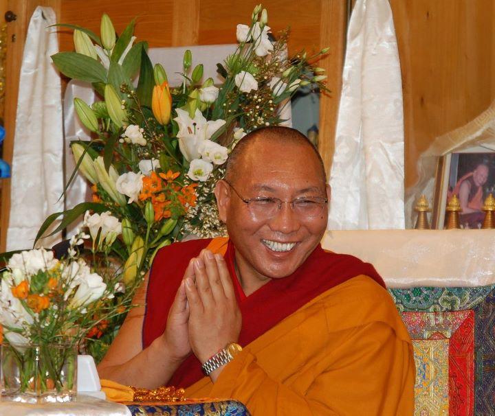 Dagri Rinpoche, foto Maitreya Instituut Amsterdam.