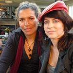 Lucia Rijker en Ellen ten Damme. Foto BOS.