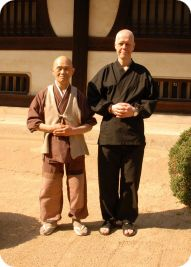 Harada Roshi en Rients Dai Osho