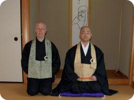 Sasaki Roshi en Rients Dai Osho
