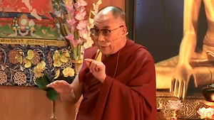 De Dalai Lama, foto's BOS-tv