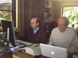 Rob Janssen en Jan de Breet. Foto BD.