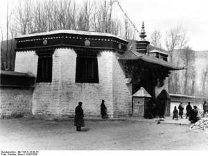 Zomerpaleis, Lhasa, CC.