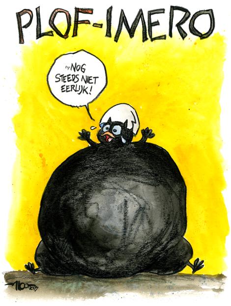 plofkip cartoon 1 wakker dier