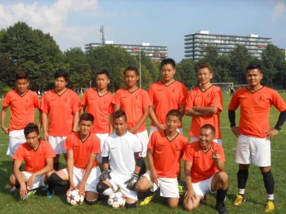 Voetbal elftal twee