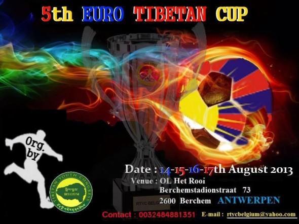 Tibetaans voetbalteam, antwerpen augustus 2013