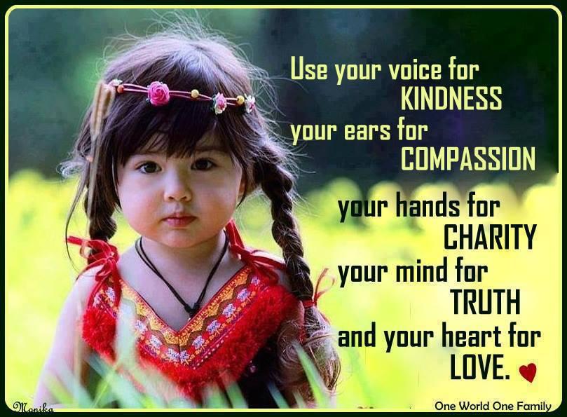 Bianca Visser voice for kindness
