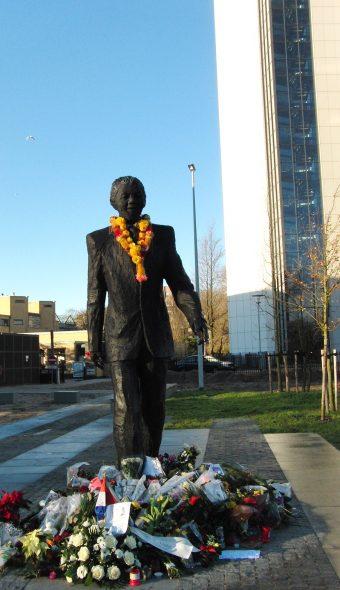 Nelson Mandela, beeld Den Haag, foto 2, Bianca Visser
