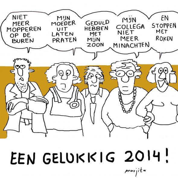 Marja Timmer Gelukkig Nieuwjaar 1 1 2014
