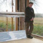 Leen Kaldenberg in atelier