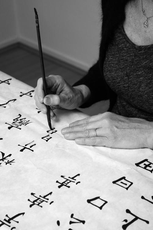 Anneke Roozendaal Kalligraferen