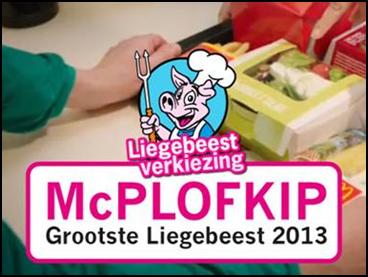 McPlofkip liegebeest 2013 McDonald Wakker Dier
