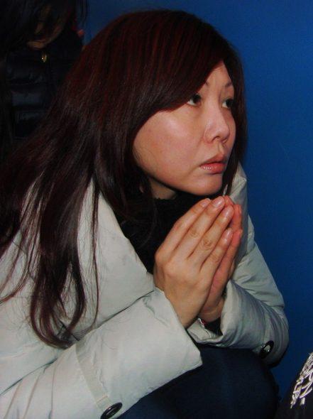 Losar foto 12 meisje devotion Losar tempel Schoten - Bianca