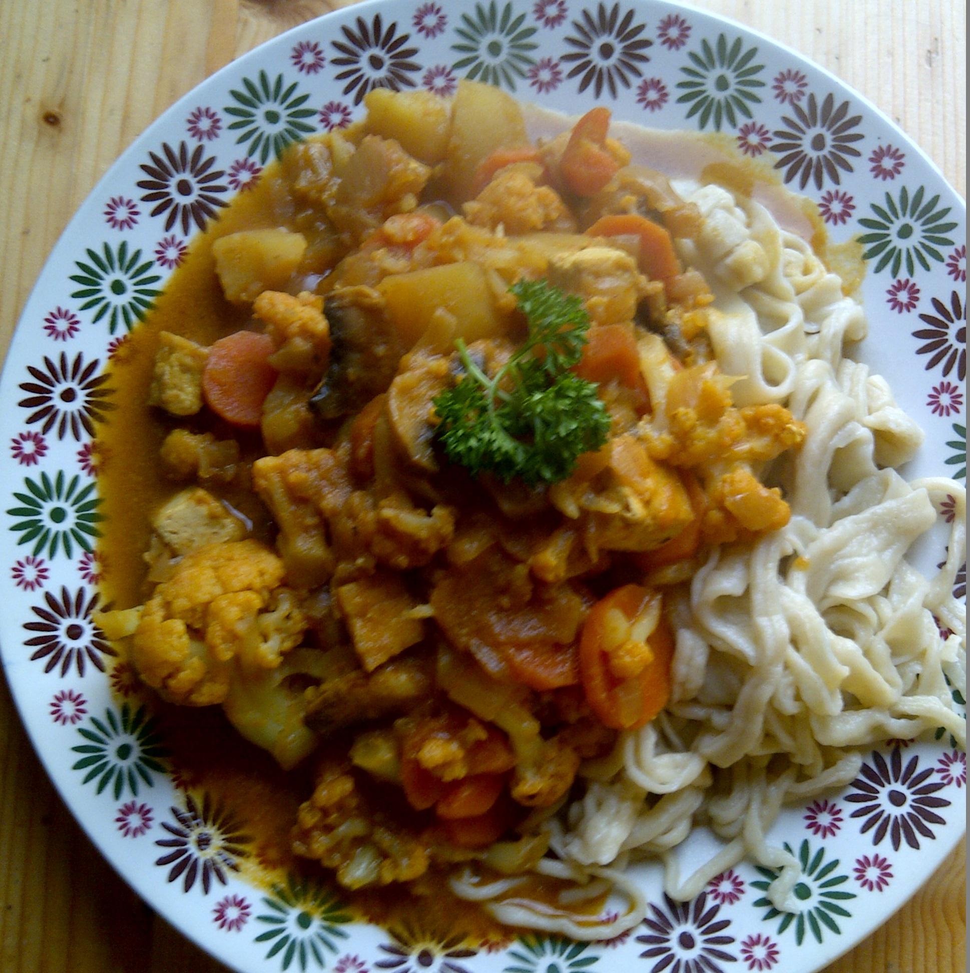 Beter plum village curry