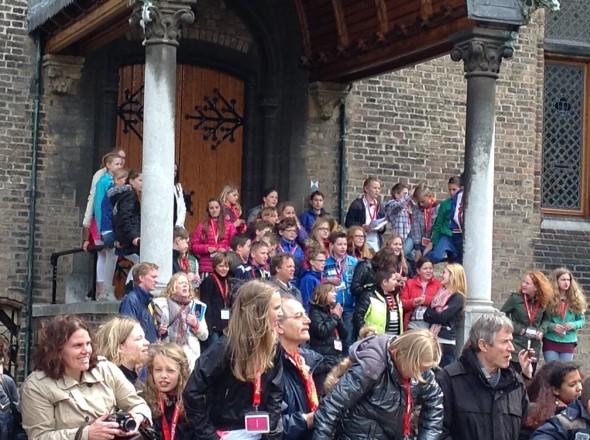 Dalai Lama Tweede Kamer Den Haag. Fotodienst BD.
