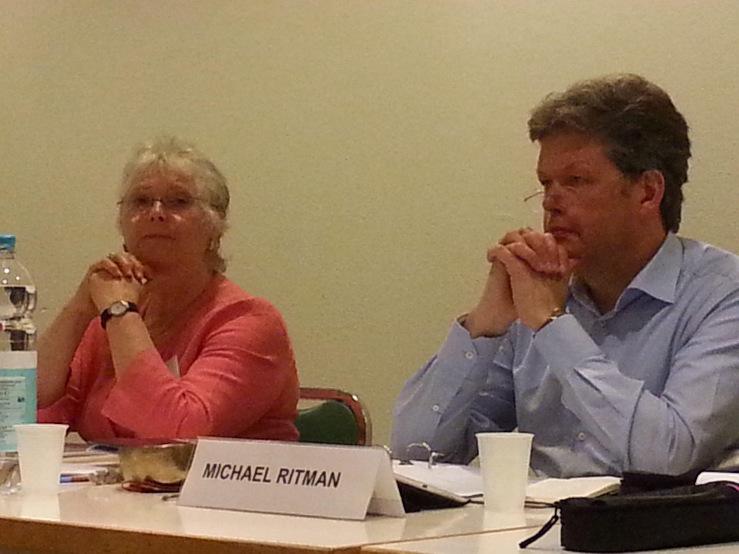 Michael Ritman en Paula de Wys.