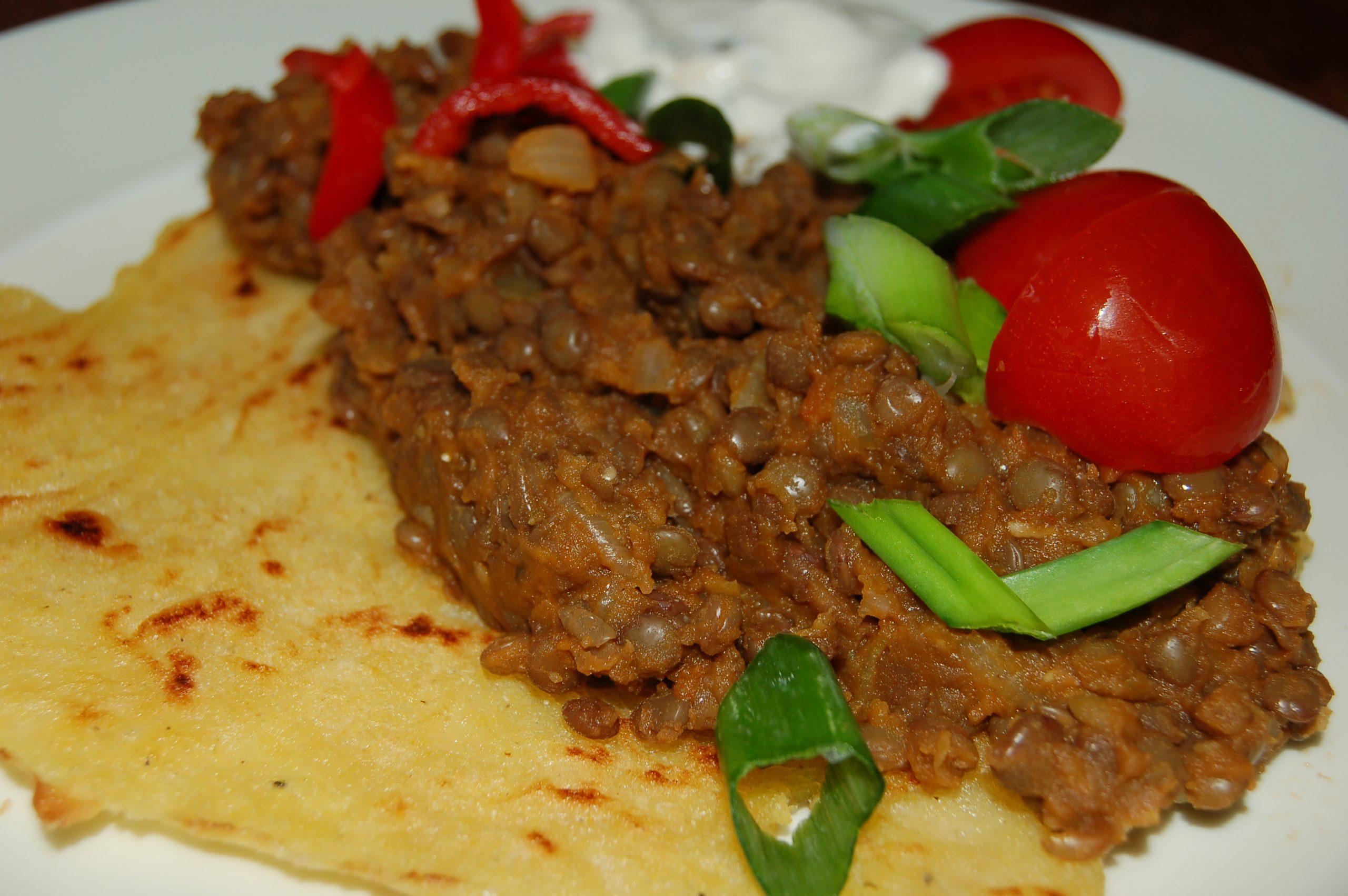 Vegan Mexicaanse Tortilla