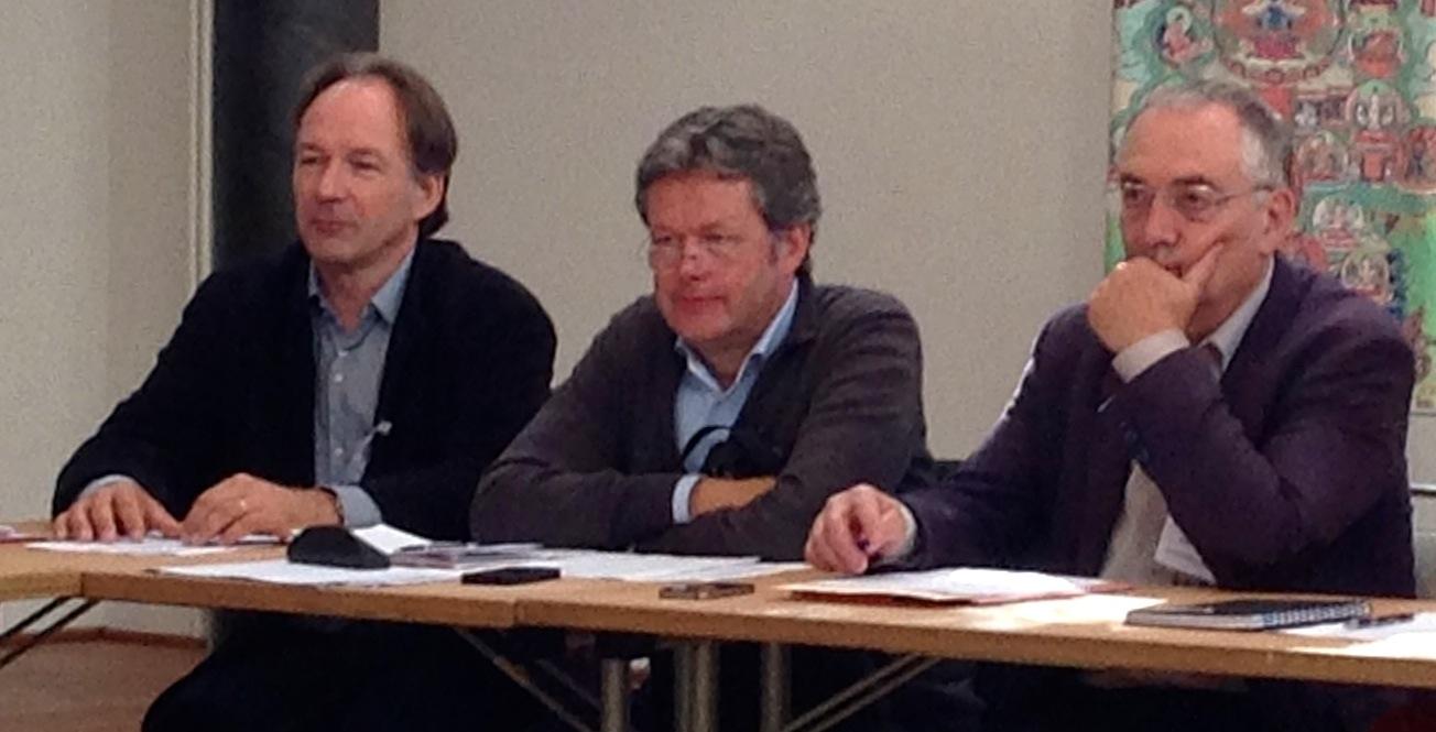 André Kalden, Michael Ritman en Michel Aquilar.