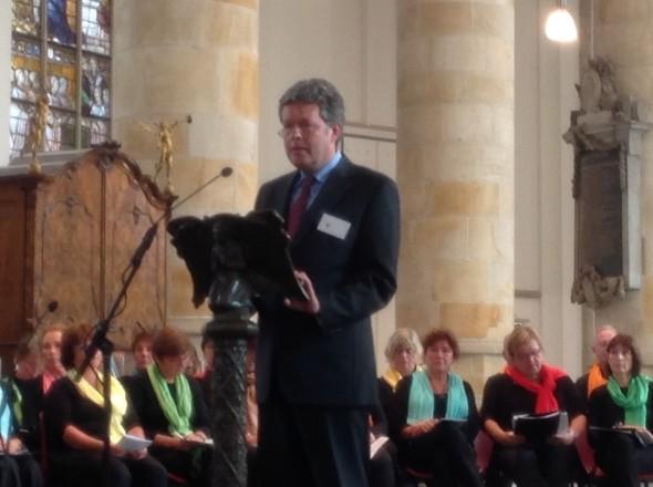 Michael Ritman, voorzitter BUN.