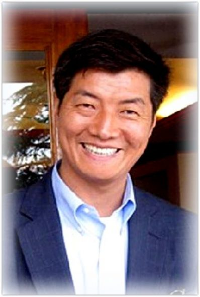 Lobsang Sangay in 2011.