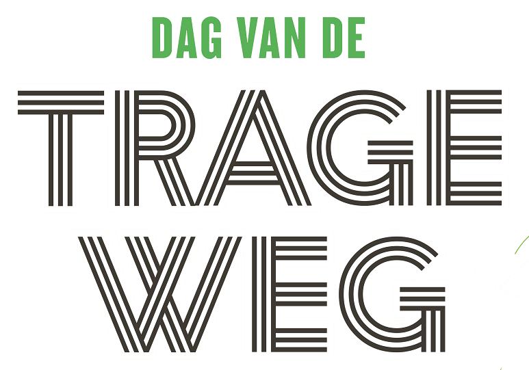 Dag van de trage Weg logo