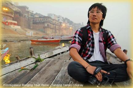 Filmregisseur Tenzing Tsetan Choklay.