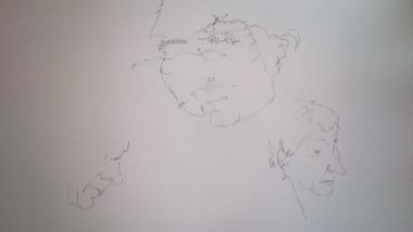 Portretten contour