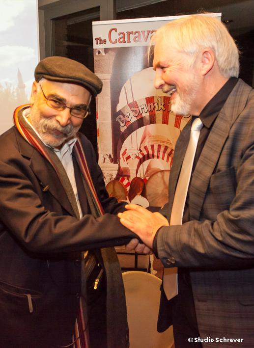 Dr Azmayesh met Frans Goetghebeur © Studio Schrever.