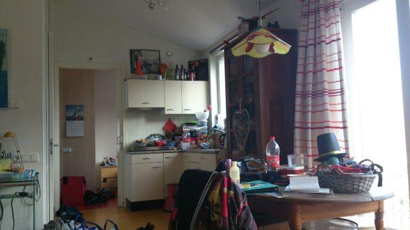 Teska Seligmann woonvorm kamer met keukenblok