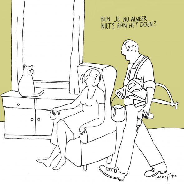 Vlijt cartoon 30 augustus 2015