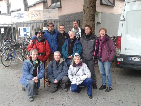 Zenpeacemakers Keulen oktober 2015 groepsfoto