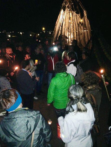 Licht van vrede de vlam