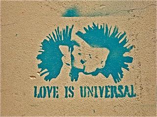 Love is universal, Graffiti, Gent, ©RH