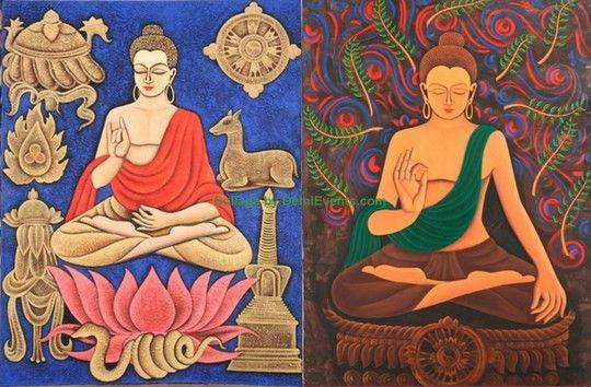 Elja twee boeddha's