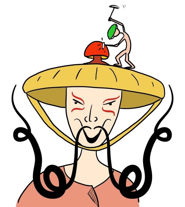 Wu Fou is knettergek