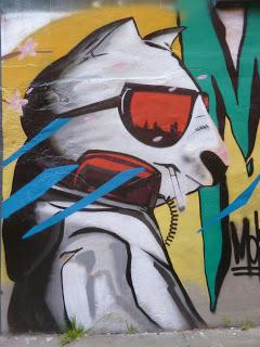 Versleten vreugde Graffiti, St. Pauli, Hamburg, mei 2016 ©RH