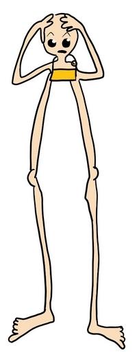 Lange benen