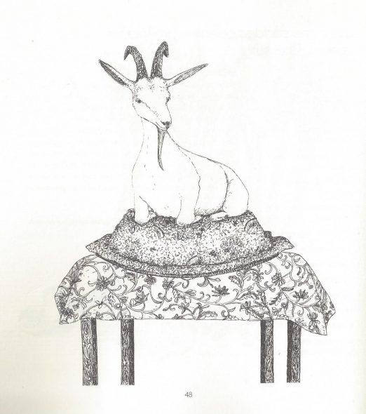 Beter kasha met geitenkaas